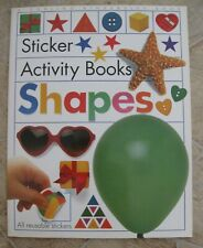 Shapes Sticker Activity (learning) Book~ 1993~ *eligible for free shipping*