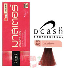 DCASH Permanent Hair dye color colour cream REDDISH # RV 403 Red Blonde