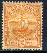 Grenada 1906 KEV11 2d Orange MM SG 79  ( E228 )