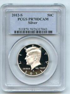2012 S 50C Silver Kennedy Half Dollar PCGS PR70DCAM