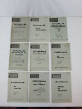 Old Vintage Caterpillar Bulldozer Tractor Owners Operator Guide Manual Lot #11