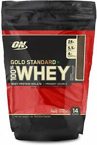 Optimum Nutrition Gold Standard 100% Whey Protein Powder 1LB Rich Chocolate