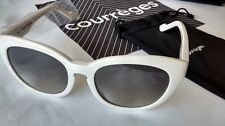 COURRÈGES Cats Eye Sunglasses White Frames Model: CL 1408 0000 - BNIB