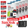 SanDisk Ultra Micro SD 16/32/64/128GB Class10 SDHC/SDXC 100MBs Memory Card+Adap