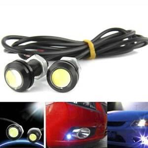 2PCS/Set 23mm 12V 3W Eagle Eye LED Lights Car Daytime Running Signal Bulbs White
