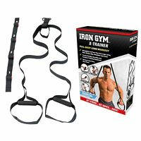 Iron Gym X-Trainer Body Weight Suspension Strength Resistance Training Exerciser