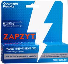 Zapzyt  Acne Spot Treatment Gel 10% Benzoyl Peroxide  1 oz  28g   UK Seller