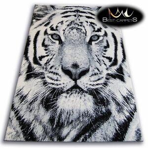 ORIGINAL ANIMAL THEME CARPETS 'FLASH' TIGER Print Area CHEAP Rugs Carpet