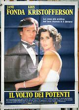 manifesto 2F film ROLLOVER Jane Fonda Kris Kristofferson Alan Pakula 1982