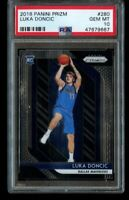 2018 Panini Prizm Luka Doncic Rookie PSA 10 Gem Mint RC #280 Dallas Mavericks