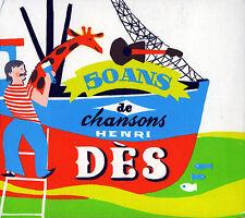 50 ANS DE CHANSONS HENRI DES - 2 CD