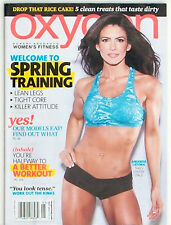 Oxygen Magazine May 2013 Amanda Latona