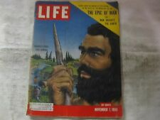 Life Magazine November 7th 1955 Europe's 1st True Human Published By Time  mg565