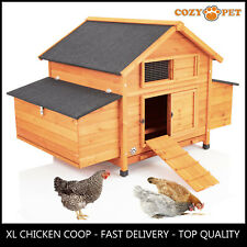 Chicken Coop by Cozy Pet Deluxe XL Hen House Poultry Ark Run Coup CC05N