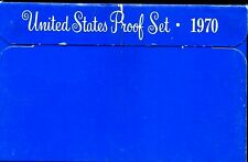 1970-S US Proof Mint Set 5 Coins Silver & CLAD 20rut0720 $2 Shipping