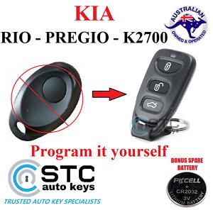 KIA RIO JB  PREGIO K2700  COMPLETE REMOTE KEYLESS ENTRY FOB 1998 - 2011