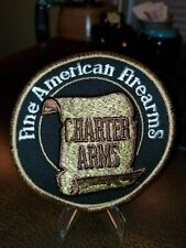 VINTAGE HUNTING/ FIREARMS RELATED PATCH 1950-1960 ERA CHARTER ARMS