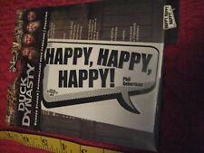 Duck Dynasty Sticker - Phil Robertson--HAPPY< HAPPY< HAPPY!