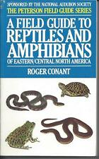New listing A Field Guide to Reptiles and Amphibians of Eastern and Central North America