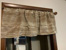 Jcp Home Studio Rod Pocket Lined Valance 54 W x 17 L Brown Forte