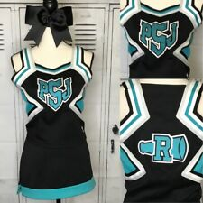 "Real Cheerleading Uniform Adult L Top 36"" Skirt 30"" Waist"