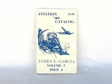 AVIATION CATALOG - James Garcia Parts & Accessories - Vintage Collectibles Gift