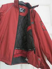 killtec Skijacke Snowboardjacke Winterjacke Funktionsjacke Gr.164 rot WIE NEU