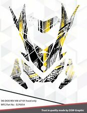 SKI-DOO XP MXZ SNOWMOBILE SLED WRAP GRAPHICS STICKER DECAL KIT 2008-2013 ELP0054