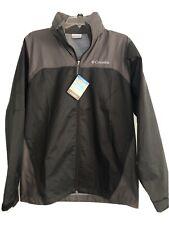 Columbia Men's Glennaker Lake Jacket - Small Black/Gray