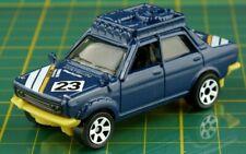 Datsun 70 510 Matchbox blau Modellauto Die Cast Easy Global Shipping