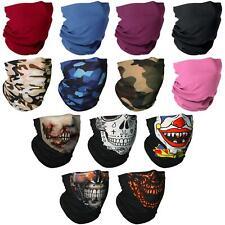 Seamless Bandana Face Covering Mask Biker Gaiter Tube Snood Scarf Neck Cover