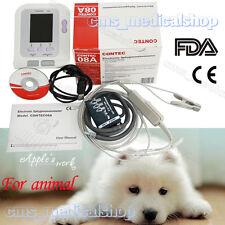 Veterinary Digital Blood Pressure Monitor CONTEC08A for vet use,Spo2 Probe