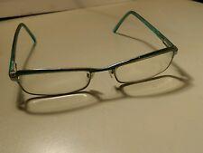Marc jacobs teal eyeglass frames