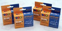 4 Canon BCI3BK Negro Cartuchos de tinta para Pixma , BJC , SERIE S Impresoras
