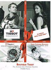 Publicité Advertising 2010 Les Montres Tissot