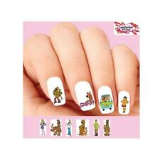 Waterslide Nail Decals Art Set of 20 - Scooby Doo Shaggy Assorted