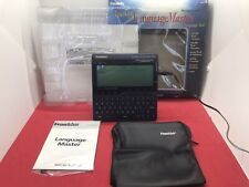 Franklin Language Master Lm-6000b. Works Only with Ac Power Adapter, Read