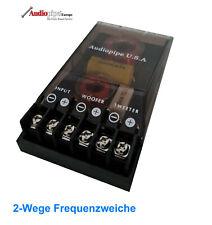 Audiopipe 400 Watt  2-Wege Frequenzweiche Weiche Bass Hochtöner 4 ohm
