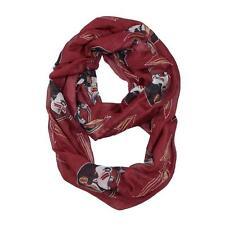 Florida State Seminoles Infinity Scarf Red [NEW] NCAA Fashion Women Sheer Neck
