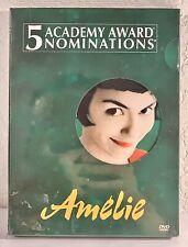 Amelie (Dvd, 2001, 2-Disc Set) Factory Sealed