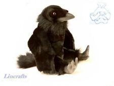 Juguete Suave Felpa Sentado Raven Pájaro de Hansa. se vende por lincrafts. 4943 Venta