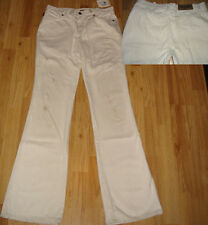 Moschino off-white distress Jeans RP£255 Authentic NEW 28 10 vintage made Italy