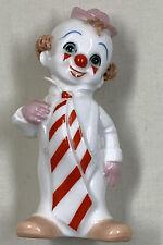 "MR Maruri Masterpieces Bone China Clown Figurine 4"""
