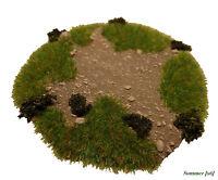 Wargames Terrain/Scenery 28mm Scale Model Tree Bases/Stands Warhammer