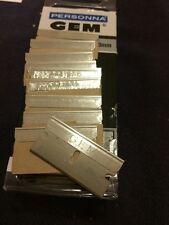 10 GEM SS Single Edge Razor Blades For Ever Ready And GEM Razors