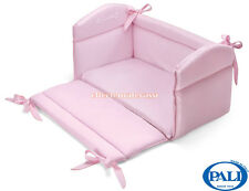 Riduttore Culla Pali Sweeties rosa per lettino