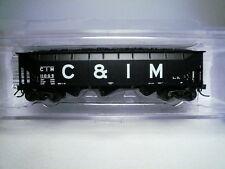 "Deluxe Innovations Chicago & Illinois Midland C&IM 3-Bay Coal Hopper #11005 ""N"""
