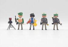Playmobil Figuren Polizei / police / Polizistinnen Dieb & Radarfalle / Blitzer