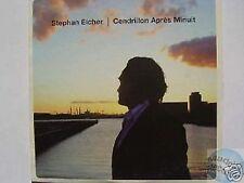 STEPHAN EICHER CENDRILLON APRES MINUIT CD PROMO