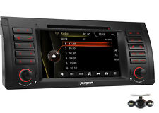 Rückfahrkamera+Neu Autoradio Für BMW E39 5er E53 X5 Mit GPS Navi Navigation DVD